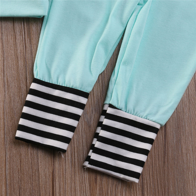 Baby Girls Stripe Hoodie Sweatpants Sets Boys Hoodies Sets Kids Autumn Clothing Sets Cotton Sweatshirt 2016 Fashion 3