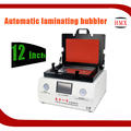 Factory sale 12 inch All In one Automatic LCD Touch panel vacuum Laminator and Remove Air Bubble Machine