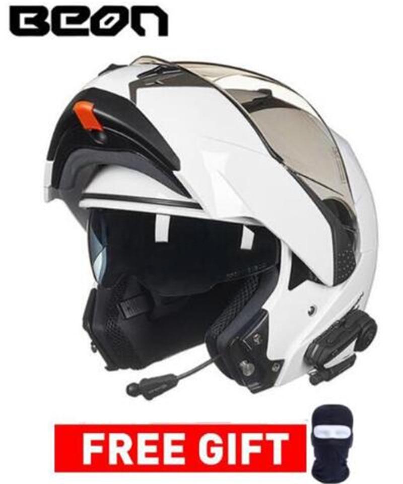 BEON Double Visor Full Face Racing Motocross Moto Helmet For Men Women Motorcycle Helmet Casco Moto