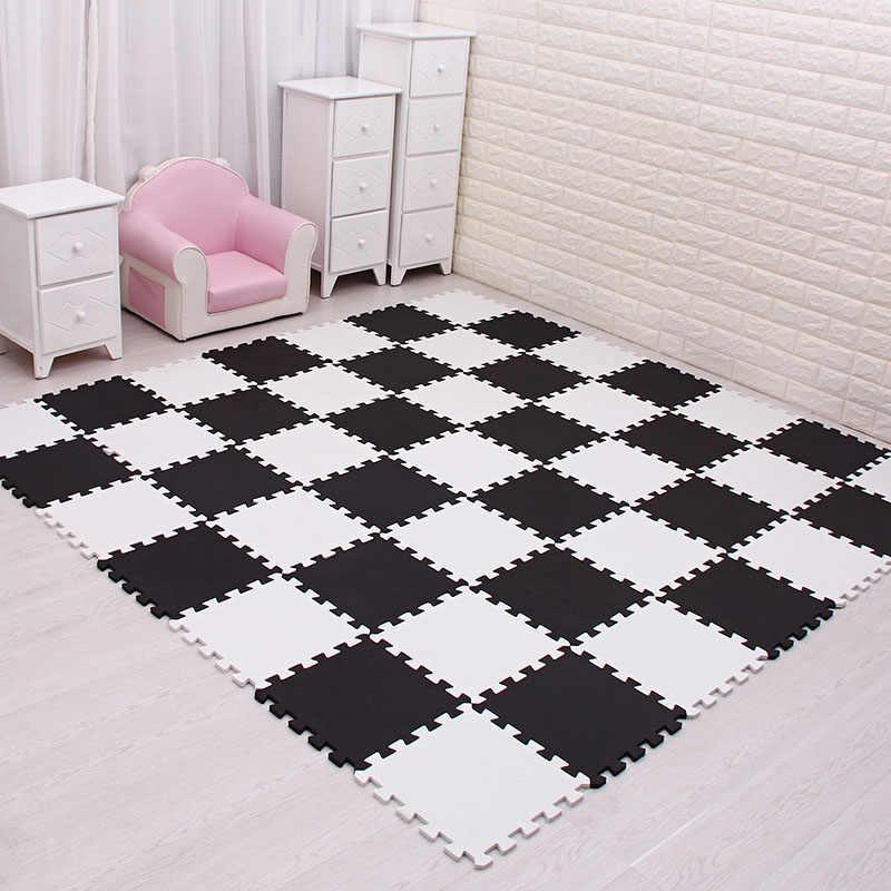Mei qi serin bebek EVA köpük oyun bulmaca matı çocuklar için birbirine egzersiz fayansları zemin halısı halı, her 29X29cm18 24/ 30 adet playmat