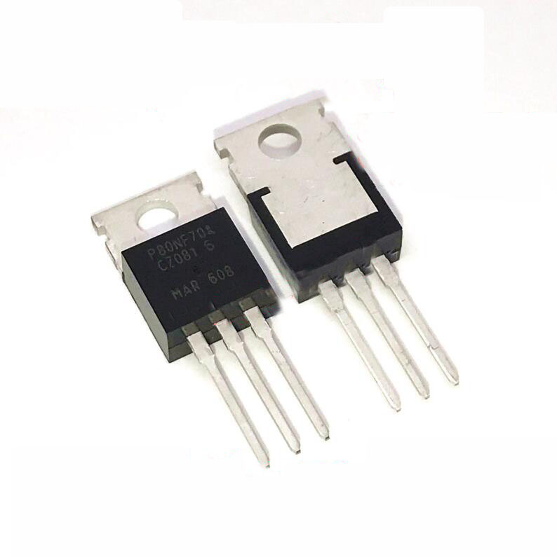 10PCS STP80NF70 TO220 80NF70 TO-220 P80NF70 MOSFET N-Ch New Original