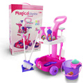 New Arrival Simulation Scene Of Children's Toys House Cleaning Cart Cleaning Tool Set Toys For Girl's Boys Best Bithday Gift