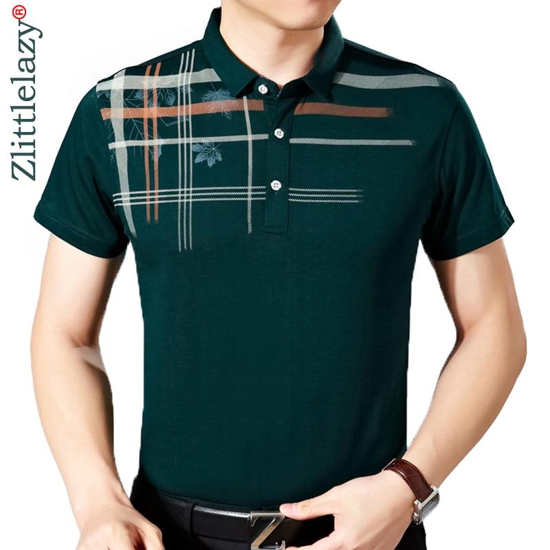 2019 mens designer social brand clothing short sleeve flower   polo   shirt men wear poloshirt camisa masculina homme shirts 4637