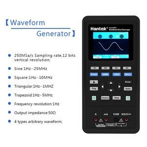 Image 3 - مولد هانتك 2D72 رقمي متعدد الموجات راسم الذبذبات المحمولة 3in1 USB 2 قناة 40mhz 70mhz أفضل مجموعة اختبار