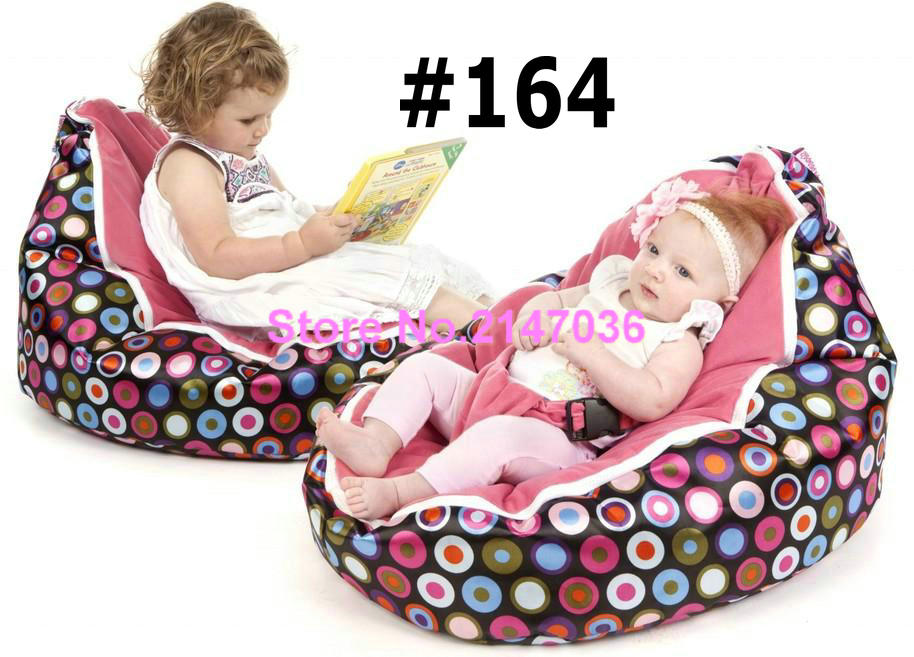 Cream bubbles Original waterproof baby bean bag chair with harness/kids bean bag/baby bean bag
