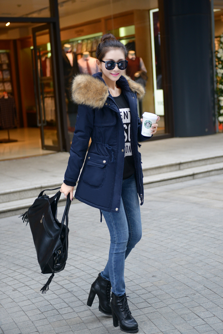 3 Femelle Plus 2 Manteau Coton D'hiver Ouatée Taille Femmes Survêtement Rembourré À 4xl Capuche 5 M 4 Col Hiver Veste Fourrure Parkas De La 1 wBIFq