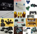 USB Board+USB Ports+HDMI Port+Joystick+Thumbstick+PS 3 cap+Full set buttons+ribbon cable+Bullet Buttons+Key Holder+Shell For ps4