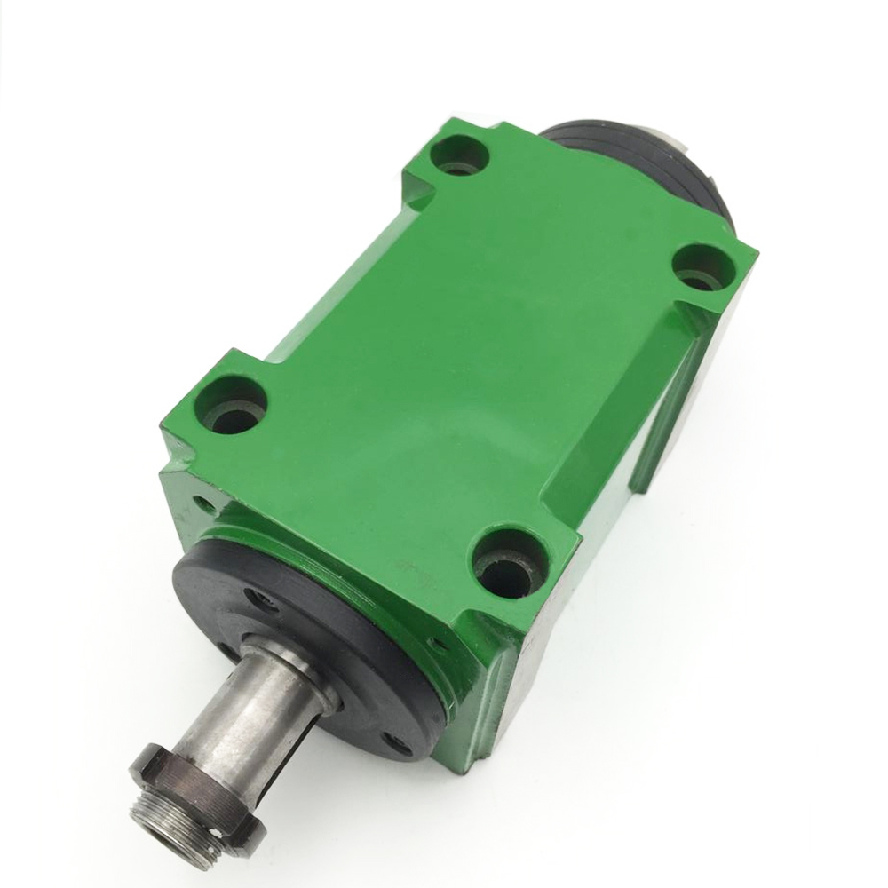 1.5KW 2Hp BT30 Max. 3000~8000rpm Power Head Power Unit 1500W Machine Tool Spindle Head For Boring Milling Cutting Machine