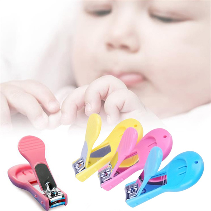 Mother & Kids New Safety Toddler Infant Mini Baby Finger Nail Care Practical Clip Trimmer Convenient Daily Baby Accessories Set 2 Colors Complete Range Of Articles