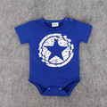 Summer Baby Romper Girl and Boy Short Sleeve Star Print Summer Clothing Set for Newborn Jumpsuits & Rompers
