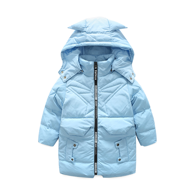 2017 Fashion Girl's Boys Down jackets coats Winter Russia baby Coats Long thick duck Warm Jacket Children Outerwear Jackets russia winter boys girls down jacket boy girl warm thick duck down