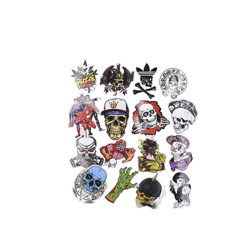 2018 Hot Sale Mixed DIY Kids Toys Stickers For Luggage Laptop Decal Bike Car Phone Snowboard Funny Doodle Cool Sticker
