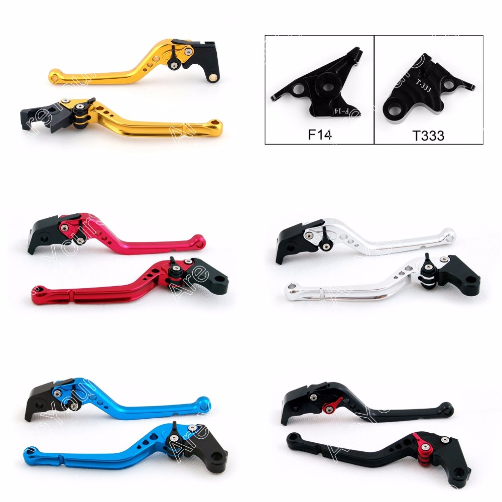 Areyourshop for Triumph Motorbike Adjustable Brake Clutch Levers for Triumph SPEED TRIPLE / TIGER 1050/Sport / TIGER 800