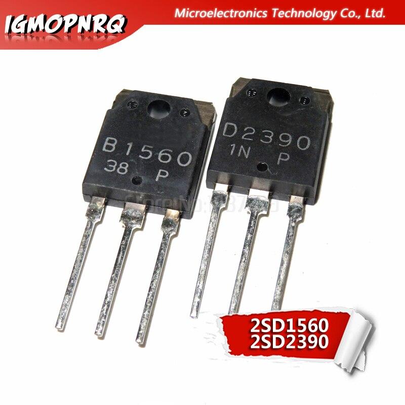 10pcs Free Shipping 2sb1560 B1560 2sd2390 D2390 Sound