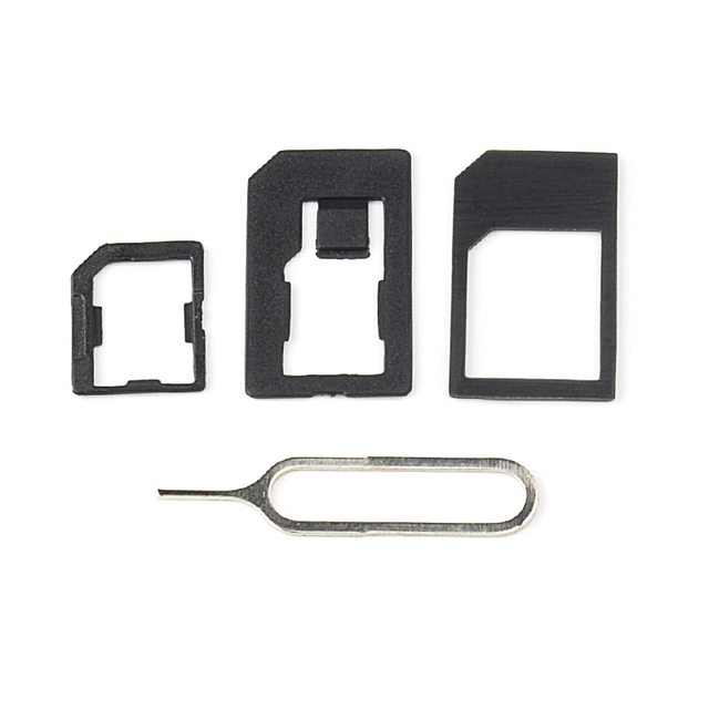 SIM Card Adaptors Set