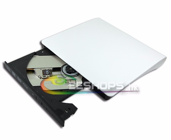 Super Slim External USB 3.0 3D Blu-ray Writer BD-RE DL Burner DVD Drive for Dell Alienware 13 R1 R2 Touch Gaming Laptop Case New replacement kem 450aaa blu ray dvd drive for ps3 slim 200x model parts repair