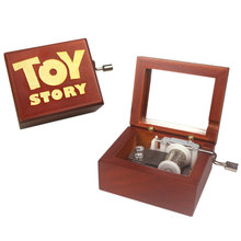 Sinzyo Handmade Wooden Youve Got A Friend Music Box Birthday Gift For Christmas Valentines Day Boxs