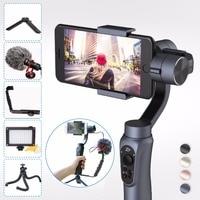 Zhi Yun Zhiyun Smooth Q 3 Axis Handheld Gimbal Tripod Stabilizer For IPhone X 8 7