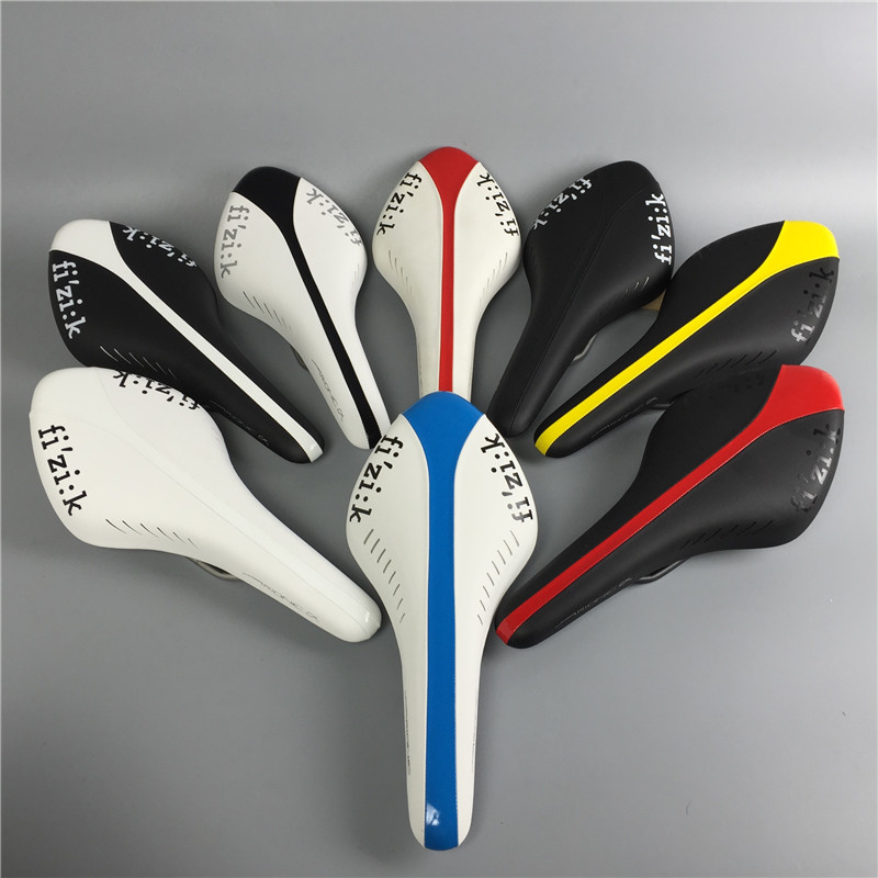 In Stock ! saddles PU leather soft road bicycle saddle seat cycling high quality bike parts black/red/yellow/white/rainbow/blue in stock road bicycle saddle seat white blue black orange antares r3 gobi cycling high quality bike parts