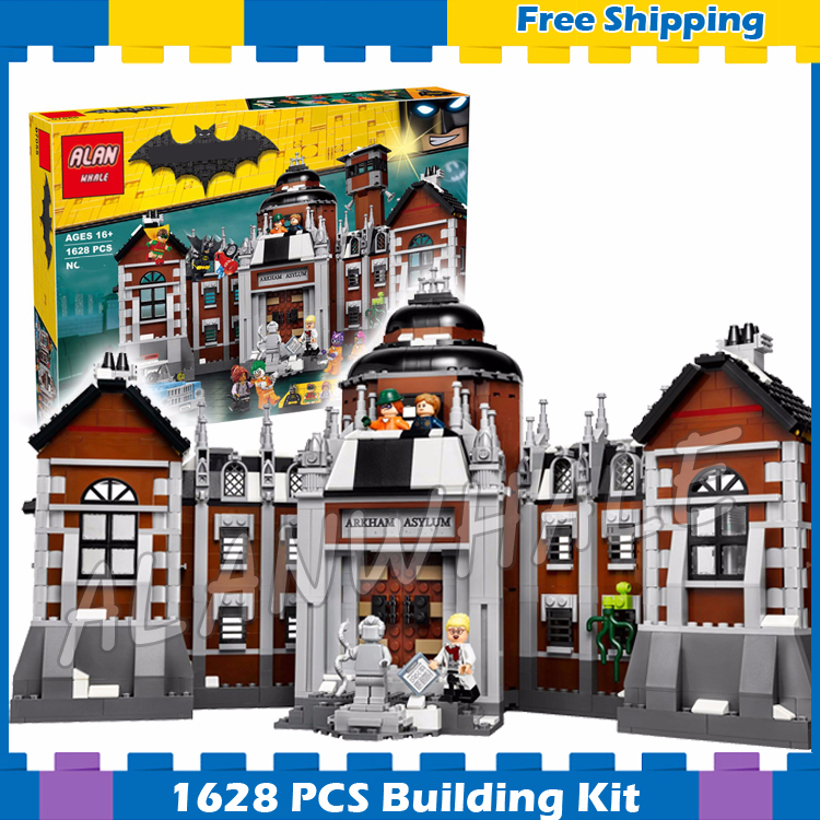 1706pcs Super Heroes Batman Movie Arkham Asylum Madhouse 07055 Model Building Blocks Assemble Gifts Sets Compatible with Lego image