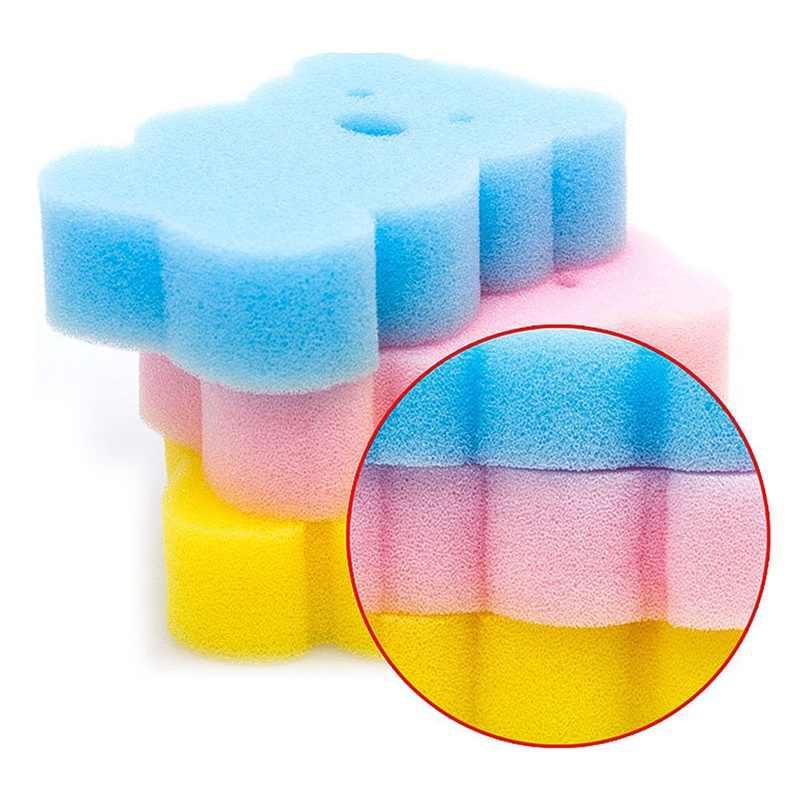 Аксессуары для полотенец для ванной, детский душ в форме животного, Детские щетки для купания, губки, губка, хлопок