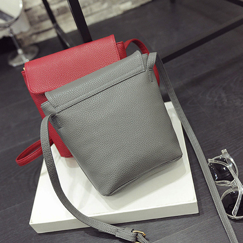 Women Bag Handbags Over Shoulder Crossbody Sling Summer Leather Bucket Casual Female Bolsas Phone Red Messenger High Quality