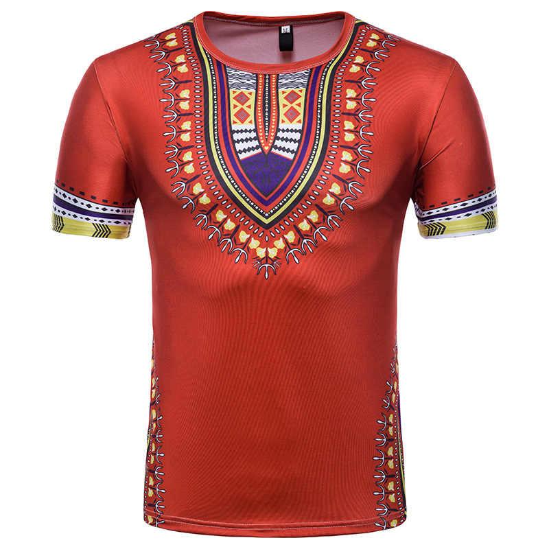 Homens Camisa de Vestido de Roupas 2019 Nova Marca Africano Dashiki Africano Homens Streetwear Casual Vestuário Africano Hip Hop Camiseta Homme