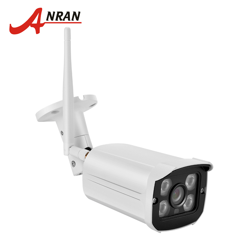 ANRAN 720P Wireless WiFi IP Camera Outdoor Waterproof H.264 HD CCTV IR Cut Night Vision Surveillance Camera 32Gb SD Card Support easyn a115 hd 720p h 264 cmos infrared mini cam two way audio wireless indoor ip camera with sd card slot ir cut night vision