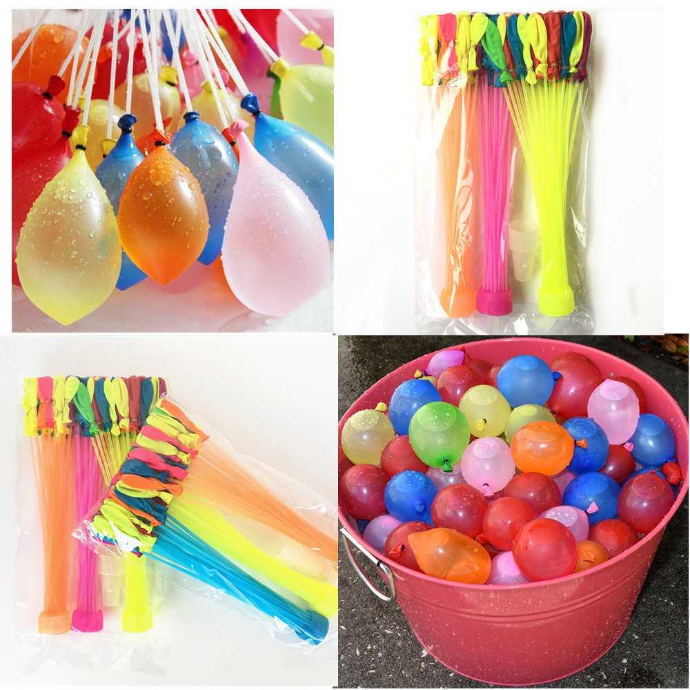 Summer Magic Bombs Water Balloons Toys Bunch Of Balloons Tied 111pcs Kids Garden Already Party ...