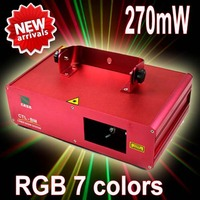 (Ship From Germany ) DMX 9CH RGB LED 310mW DJ Party Stage Disco Laser Light Show Laser light luz de la etapa