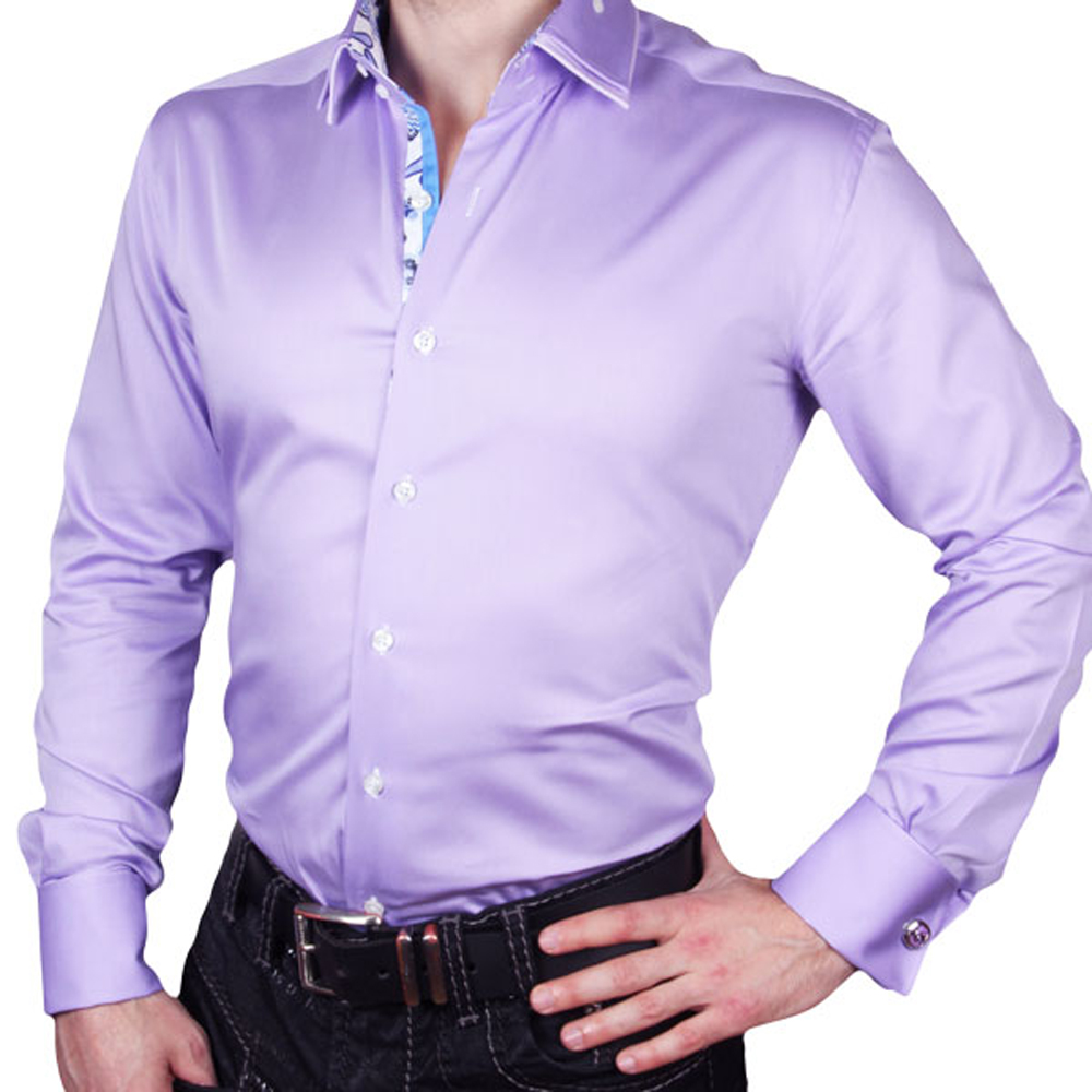 J.Del'or New Arrival Men's Cotton Fancy/Classic Dress Shirts Classic Long Sleeve Slim Fitting High Quality Euro.Design