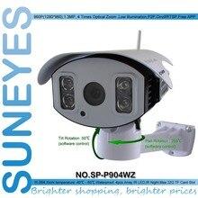 Suneyes sp-p904wz 960 p 1.3mp hd ptz wifi cámara ip inalámbrica al aire libre con tf/ranura sd micro pan & tilt rotación matriz ir