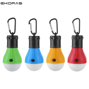 Portable Lantern Tent Light LED Bulb Emergency Lamp Waterproof Hanging Hook Flashlight For Camping 4 Colors Use 3*AAA mini portable lantern tent light led bulb emergency lamp waterproof hanging hook flashlight for outdoor fishing camping