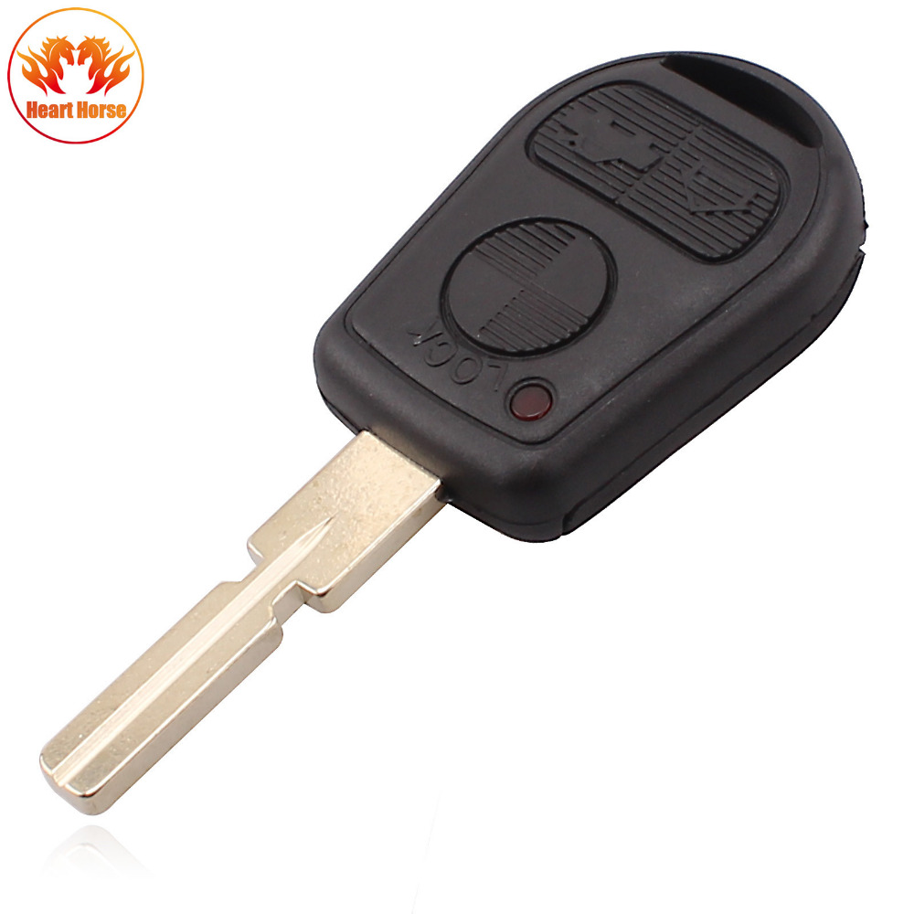 ộ ộ ༽3 Przycisk Remote Key Shell Fit For Bmw E31 E32 E34