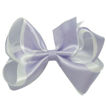 Free Shipping Wholesale 100pcs Boutique Twisted 5 Inch Large Classic Hairbow Hair Clip