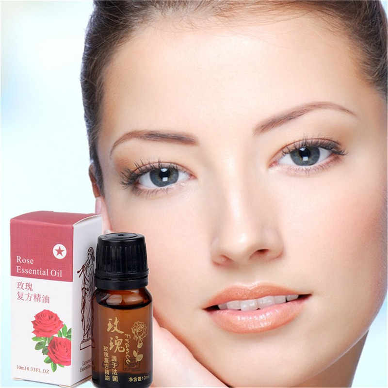 Rose essential oil Skin Whitening should go wrinkles Whiten skin and Fade spots SETS Rose essential oil Rose Hip base oil 10ml