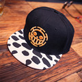 2016 Spring & Summer Fashion One Piece Snapback Hip Hop Caps Hat For Men Women Sports Adjustable Luffy Baseball Cap Hat Bone