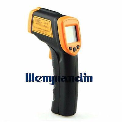 0d3e2bc4d7ec3 Não-Contato Display LCD Temperatura IR Infrared Digital Termômetro  Temperatura Laser Gun-32 ~ 320