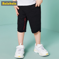 Balabla 2018 Boys Summer Pants Children Casual Shorts Baby Boys Letter Print Short 2 6T Kids Cotton Clothes Infant Cloth