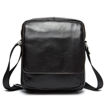 New brand genuine leather bag design bags men's small leather crossbody bag men messenger bags shoulder famous brand #067
