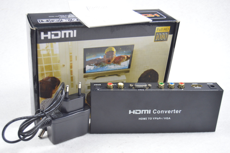 HDMI TO RGB SPDIF Converter