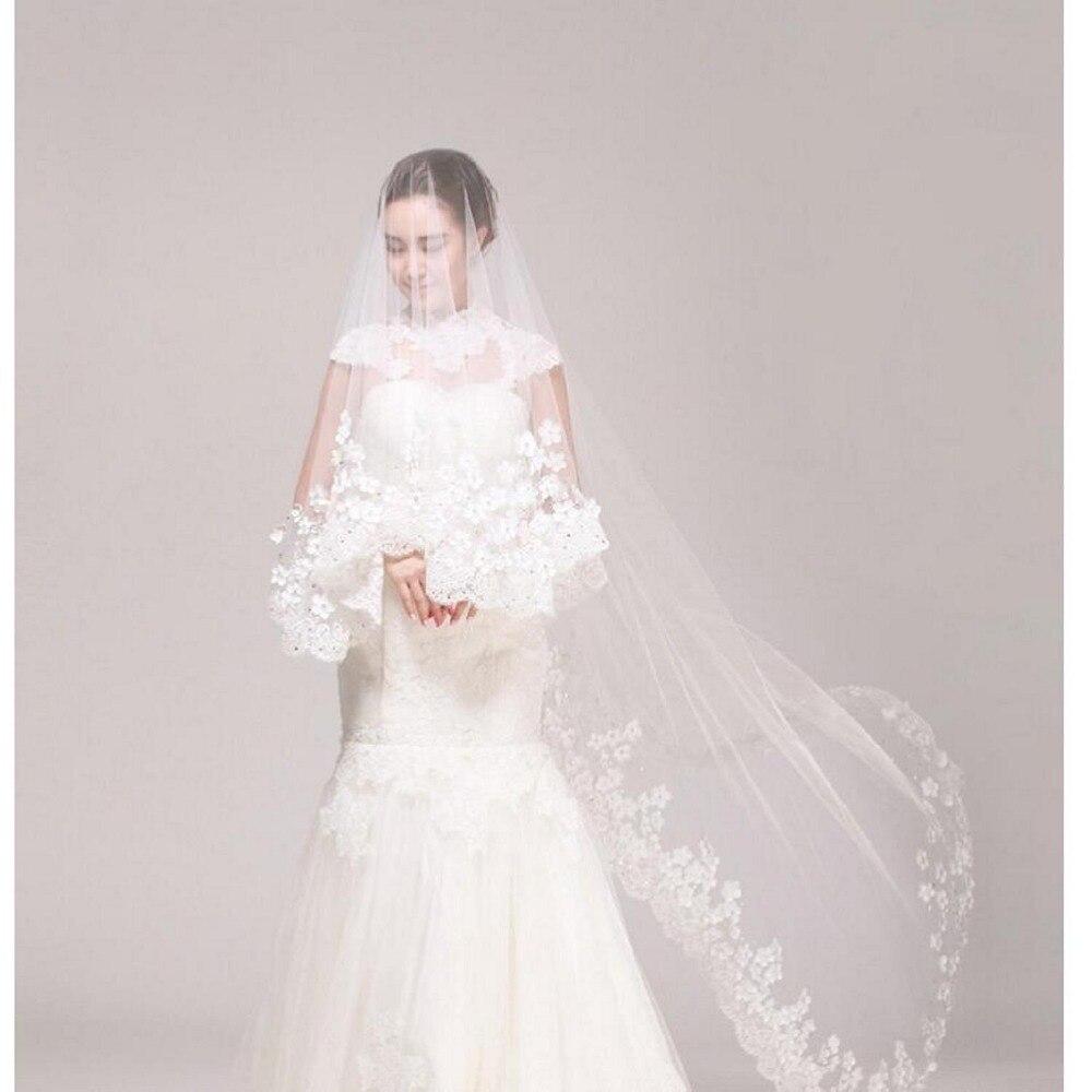 Wedding Gown Veil: 2017 Wedding Dress Bridal Veil Wedding Accessories Long