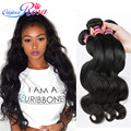 Grace Hair Products Brazilian Virgin Hair Body Wave 3.5 Oz/Bundle 8A Grace Hair Company Brazilian Body Wave Human Hair Weave