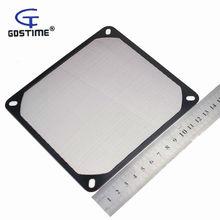 2 шт Gdstime 140 мм алюминиевый пылезащитный Пылезащитный фильтр сетчатый предохранитель для ПК чехол вентилятор процессора