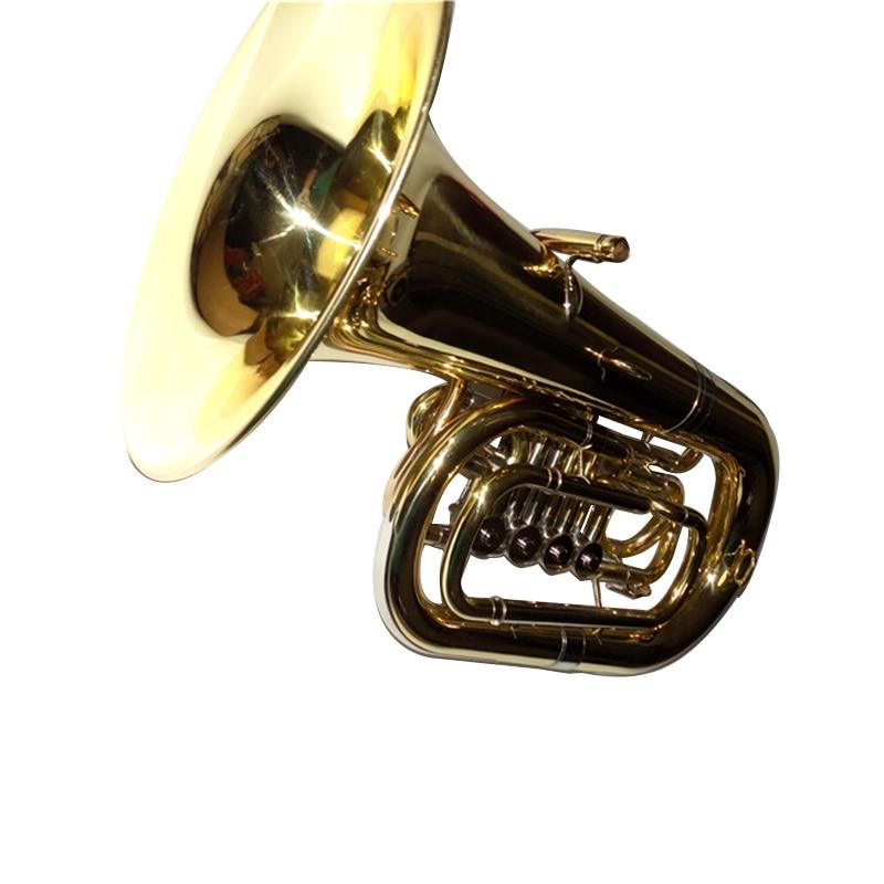 Bub Junior Tuba 4 Βαλβίδες Ύψος 612 χιλιοστά - Μουσικά όργανα - Φωτογραφία 4