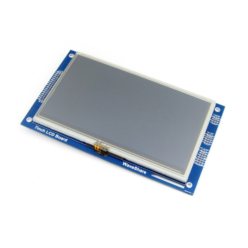 Waveshare 7inch Resistive Touch LCD (C) 800*480 Multicolor Graphic LCD resistive touch screen RA8875 LCD Controller 3.0V~3.6V modules 7inch resistive touch lcd display module 800 480 pixel multicolor screen ra8875 controller embedded 10kb character rom