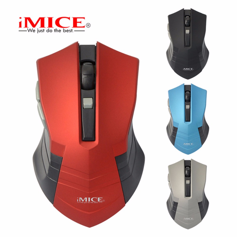 Mice Silent Click Wireless Mouse 6 Buttons 2000DPI Mute Optical Computer Game The high-end players & gaming professional players Best Buy