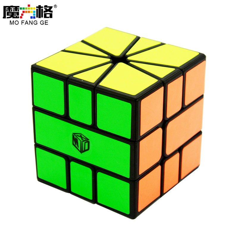 Qiyi X-MAN Volts SQ-1 Noir/Stickerless Carré Un SQ1 Mofangge Cubo Magico Puzzle Jouets Éducatifs Cadeaux de Baisse gratuite