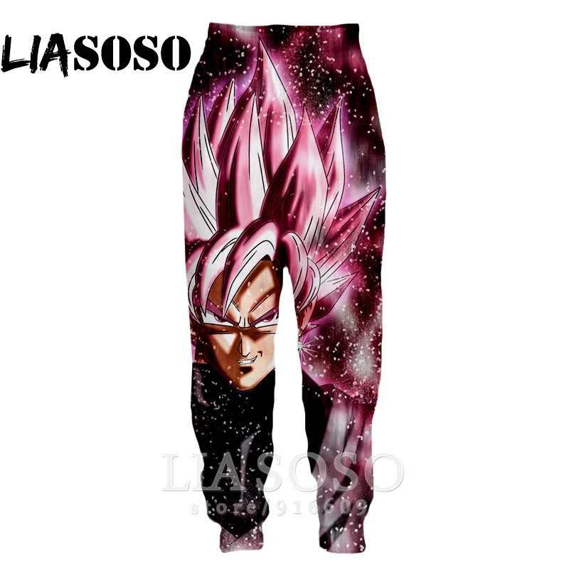 3d Druck Männer Frauen volle länge Jogginghose Harajuku Dragon Ball z goku mode Streetwear Hosen anime casual jogger hosen E828