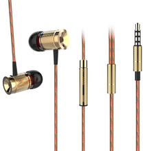Original Plextone X53M Magnetic Metal Wire Controled In-Ear Earphones With Mic